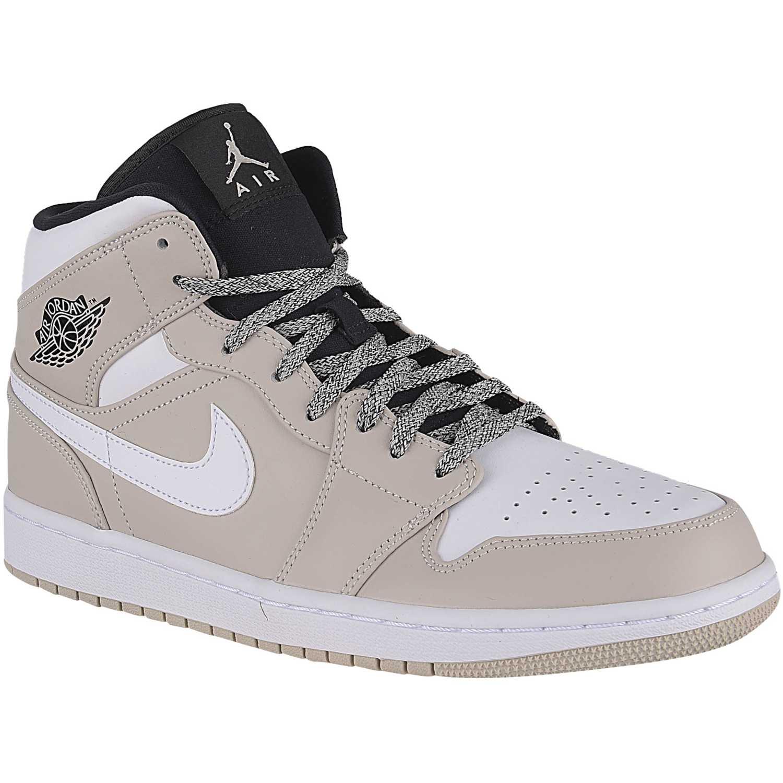 newest 5c41e e09a2 Zapatilla de Hombre Nike Beige air jordan 1 mid
