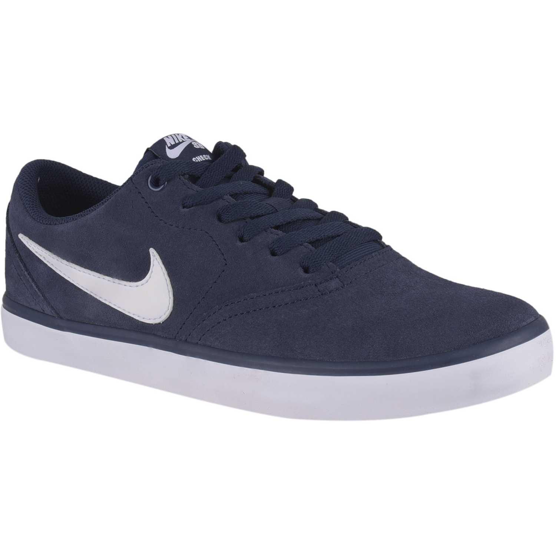 ca9ae0cfa48 Zapatilla de Hombre Nike Azul sb check solar