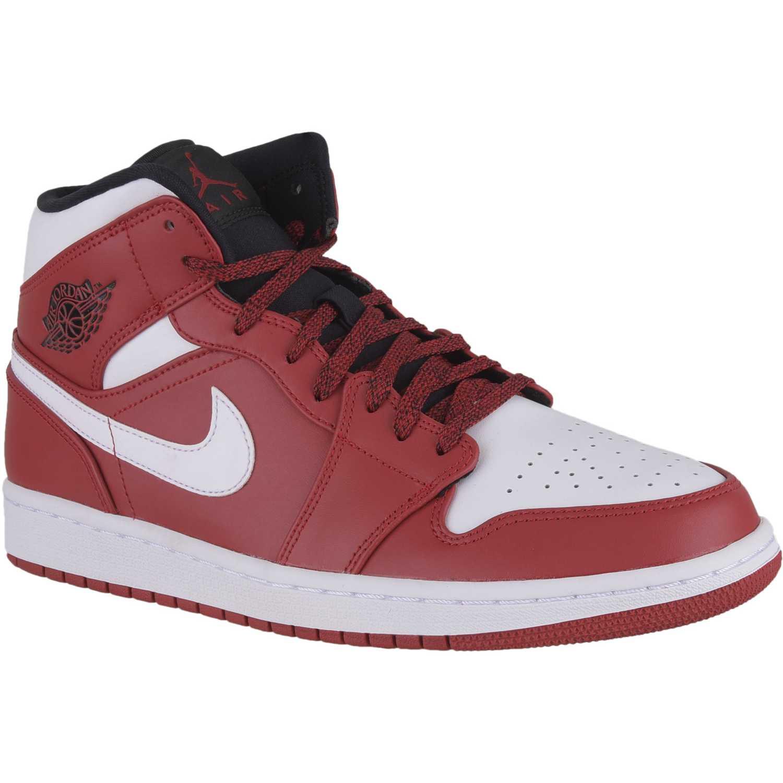 buy online da7da 3532d Zapatilla de Hombre Nike rojo air jordan 1 mid | platanitos.com