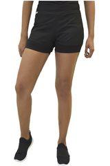 Everlast Negro de Mujer modelo short fast Deportivo Shorts