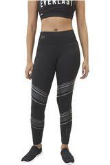 Everlast Negro de Mujer modelo LEGGING LONG FAST Leggins Deportivo