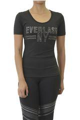Everlast Negro /Gris de Mujer modelo POLERA LEGEND Deportivo Polos