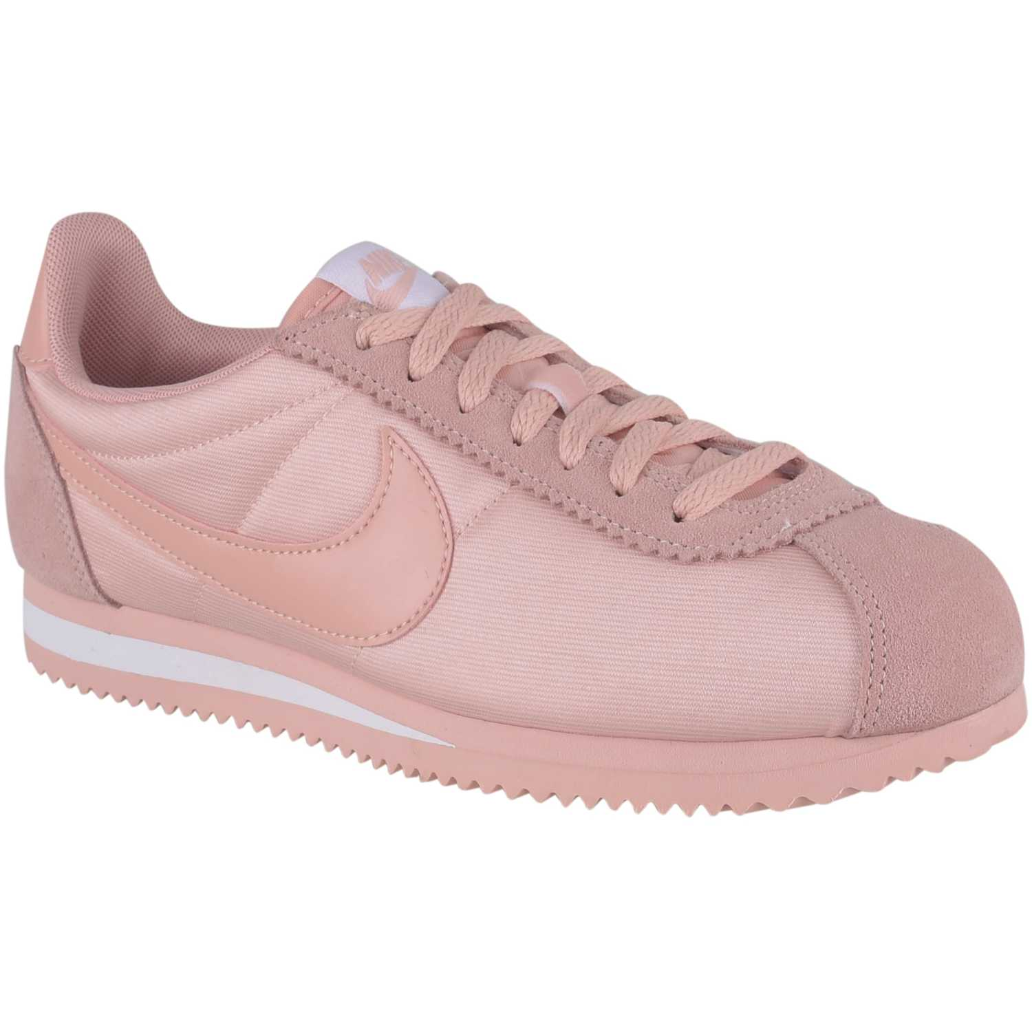 shop nike cortez nylon rosado 61be5 750b4