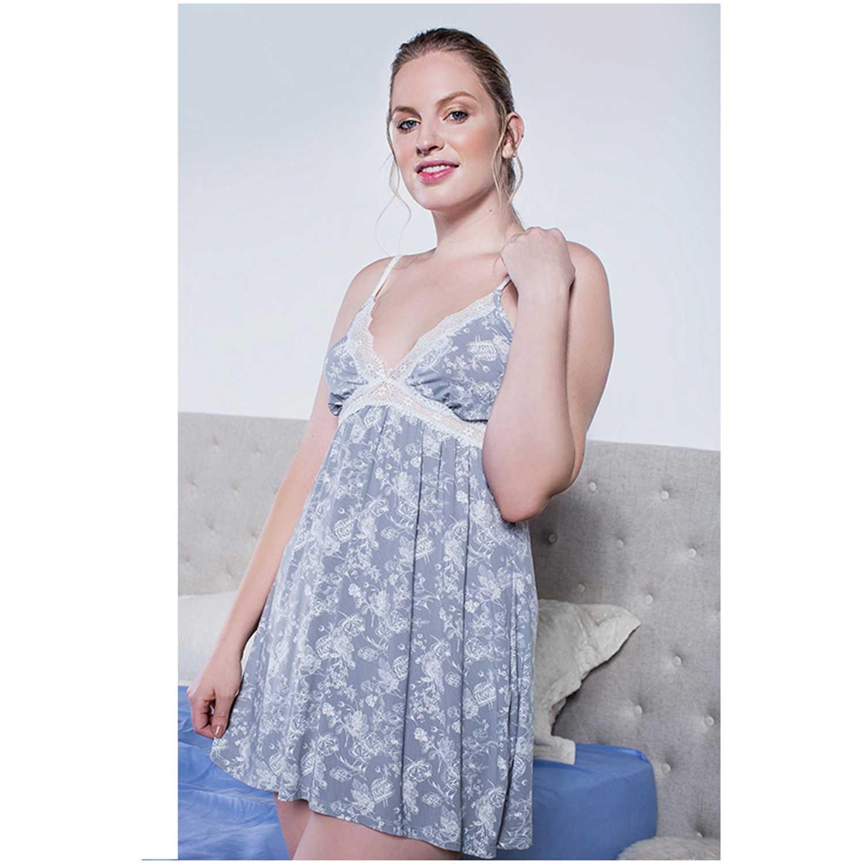 Pijama de Mujer Kayser Gris 72.04