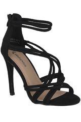 Sandalia de Mujer Platanitos Negro SV 4699