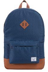 HERSCHEL Azul / marrón de Hombre modelo HERITAGE NAVY TSL BP Mochilas