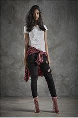 CUSTER Negro de Mujer modelo BOYFRIEND W Casual Pantalones Jeans