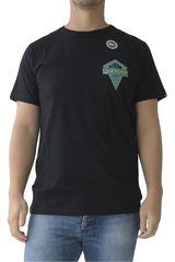 Quiksilver Negro / Turquesa de Hombre modelo SPEARHEAD SS Deportivo Polos