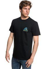 Quiksilver Negro / Celeste de Hombre modelo QUIK START Deportivo Polos