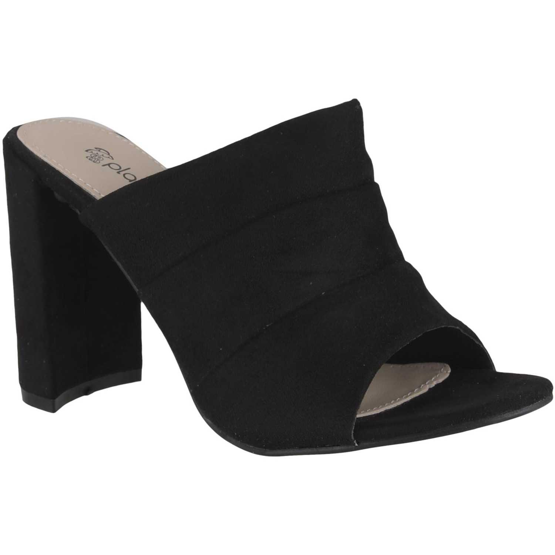 Sandalia de Mujer Platanitos Negro s 801
