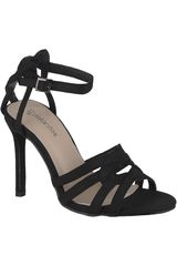 Platanitos Negro de Mujer modelo SV 943 Sandalias Tacos Vestir