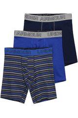Under Armour Varios de Hombre modelo Charged Cotton 6in 3 Pk Nov Shorts Boxers