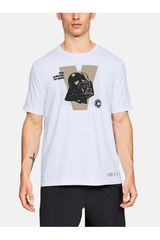Under Armour Blanco de Hombre modelo Darth Vader SS T Polos Deportivo