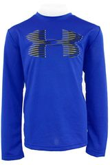 Polo de Jovencito Under Armour Tech Big Logo LS Azulino