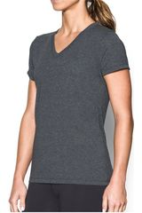 Polo de Mujer Under Armour Gris Threadborne Train SSV Twist
