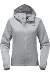 The North Face Gris de Mujer modelo W CYCLONE 2 HOODIE Casacas Casual