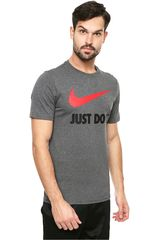Polo de Hombre Nike Gris m nsw tee jdi swoosh new
