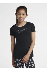 Polo de Niña Nike Negro G NP TOP SS