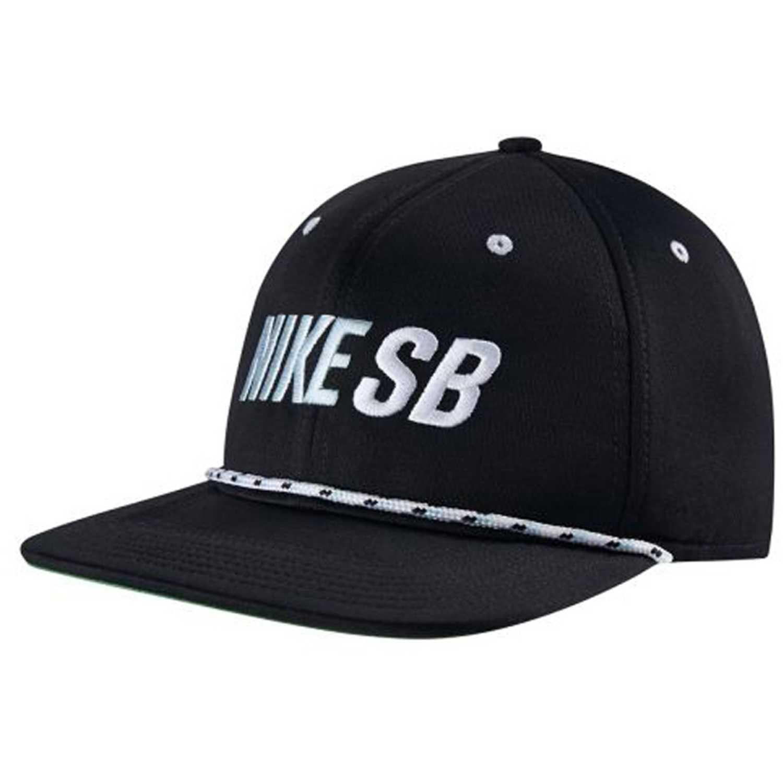 Gorro de Hombre Nike Negro   blanco u nk cap sb rope pro ... 49d9087404c