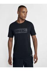Nike Negro de Hombre modelo M NK FC DRY TEE SEASONAL BLOCK Deportivo Polos