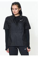 Nike Negro de Mujer modelo W NK SHLD JKT SS Deportivo Casacas