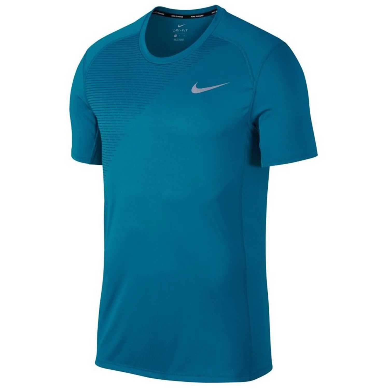 Polo de Hombre Nike Acero m nk dry miler top ss gx
