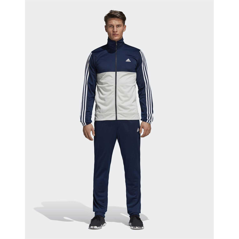 Buzo de Hombre Adidas nos trae su colección en moda Hombre Mujer Kids. Envíos gratis a todo el Perú.  Azul / blanco back2bas 3s ts