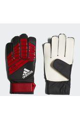 Adidas Negro / rojo de Jovencito modelo Predator YP Guantes