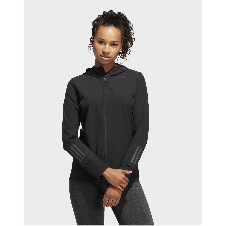 Casaca de Mujer Adidas Negro response jacket