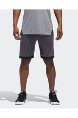 Adidas Gris de Hombre modelo SPT BOS Shorts Deportivo