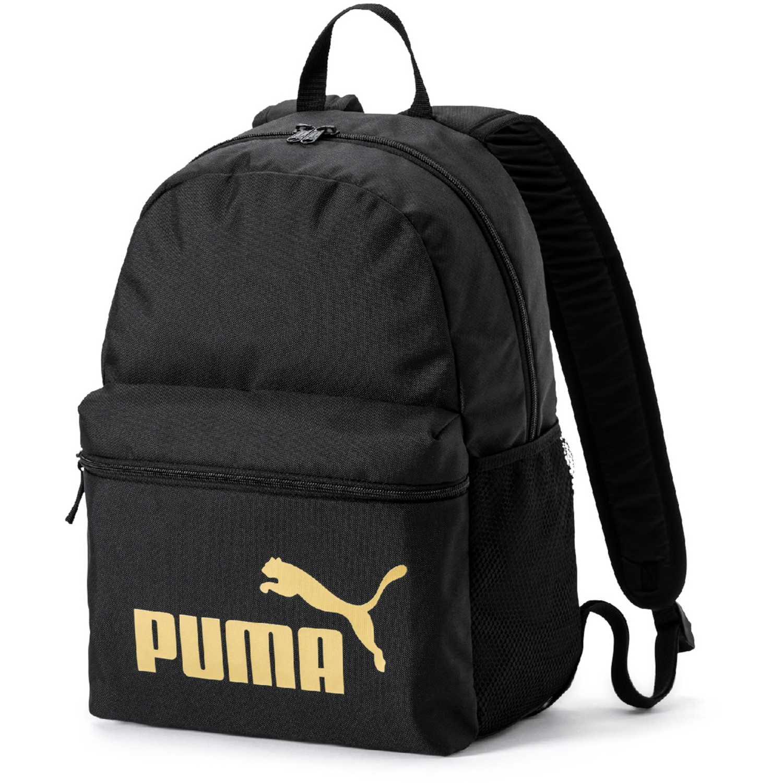 Mochila de Hombre Puma Negro / dorado puma phase backpack