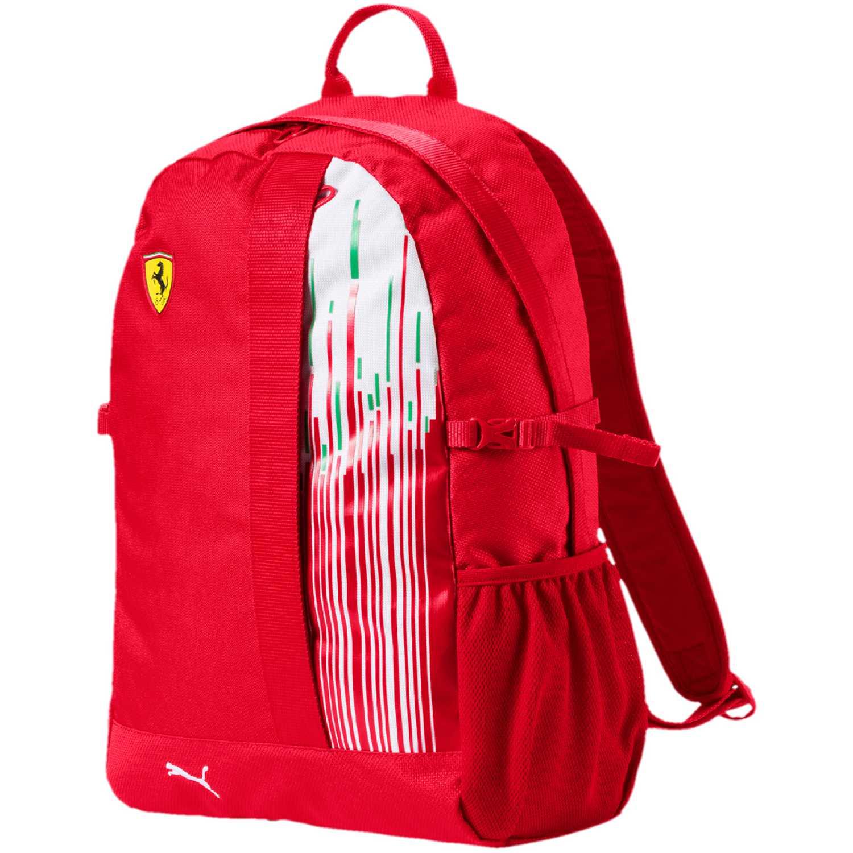 Mochila de Hombre Puma Rojo / blanco sf replica backpack