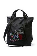 Puma Negro de Mujer modelo Prime Shopper Premium Carteras Bolsos