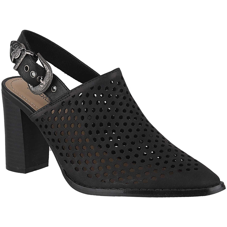 Calzado de Mujer Platanitos Negro c 2