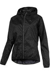 Puma Negro de Mujer modelo LastLap Graphic Jacket W Casacas Deportivo