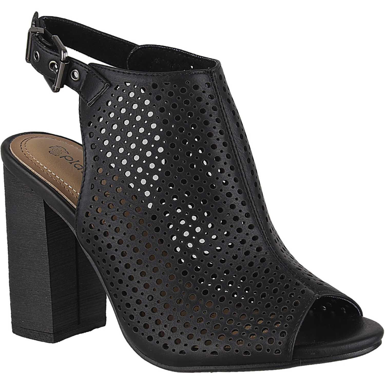 Sandalia de Mujer Platanitos Negro sbt 80