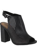 Platanitos Negro de Mujer modelo SBT 80 Sandalias Tacos Botínes