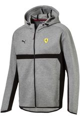 Puma Gris / negro de Hombre modelo SF Hooded Sweat Jacket Deportivo Casacas