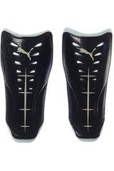 Puma Negro / Blanco de Hombre modelo Power Force 6.11 slip (no straps) Canilleras Deportivo