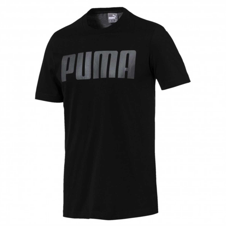814d90db3 Polo de Hombre Puma Negro modern sports relax tee   platanitos.com
