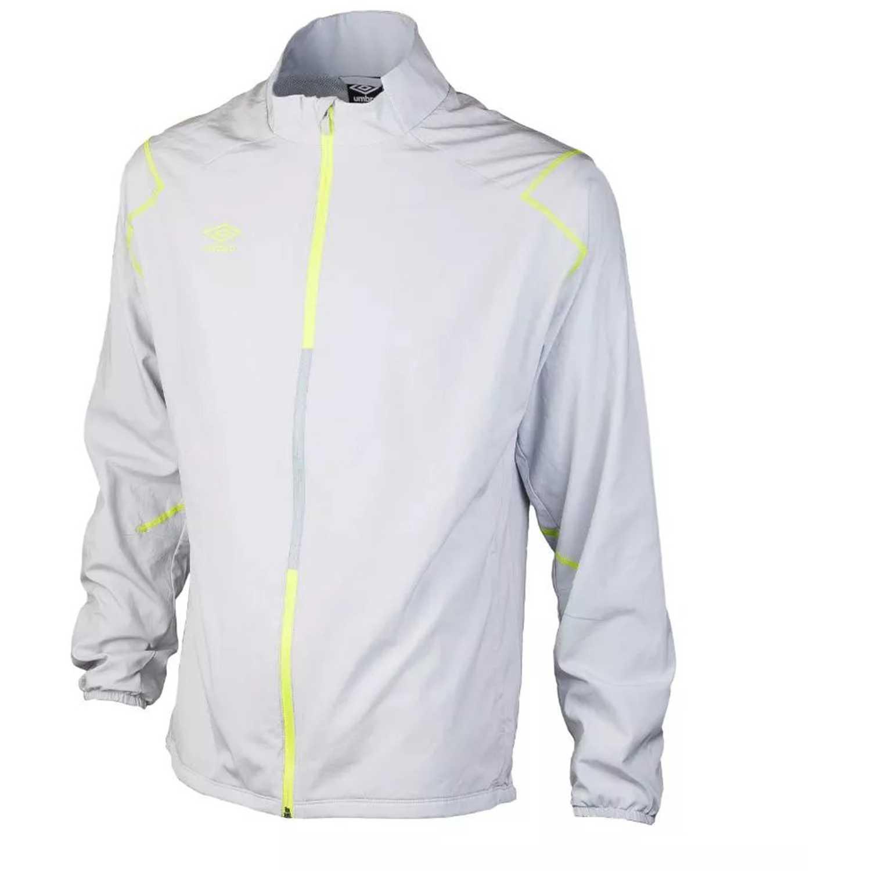 fb6f2a5fb550f Casaca de Hombre Umbro Gris silo training woven jacket