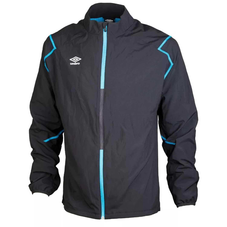 9aac4c1defff5 Casaca de Hombre Umbro Negro silo training woven jacket