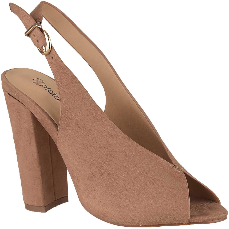 Sandalia de Mujer Platanitos Rosado sv 23