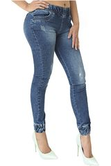 COTTONS JEANS Azul de Mujer modelo SOFIA Jeans Pantalones Casual