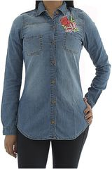 COTTONS JEANS Azul de Mujer modelo ROSA Blusa Casual
