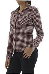 COTTONS JEANS Rojo / Blanco de Mujer modelo BELEN Casual Blusa