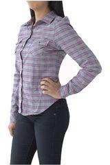 Blusa de Mujer COTTONS JEANS Plomo / rosado claudia