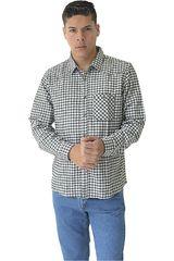 Camisa de Hombre COTTONS JEANS Negro / blanco renny