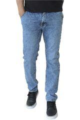 COTTONS JEANS Celeste de Hombre modelo JAIME Casual Pantalones Jeans