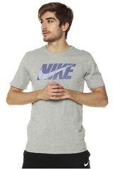 Polo de Hombre Nike Gris M NSW TEE NIKE BLOCK SWOOSH